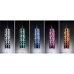 Dimple-silver-emerald-blue-rose-orange-suspension-single  arredamento Foligno