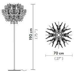 Fiorella-floor-lamp  arredamento Foligno