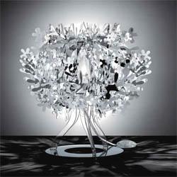 Fiorella-gold-silver-copper-table-lamp-fiorellina  arredamento Foligno