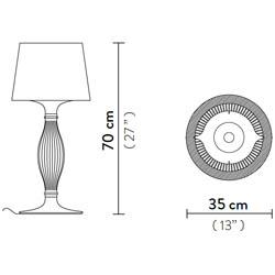 Liza-prisma-table-lamp  arredamento Foligno
