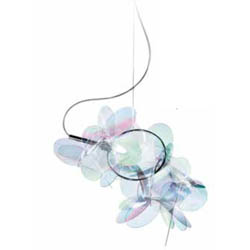 Mille-bolle-iridescent-suspension  arredamento Foligno