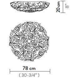 Veli-ceiling-wall-lamp-large  arredamento Foligno